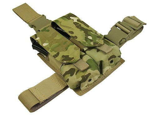 POUCH ak ak47 ak74 AS VAL saiga-12 AUG Vepr DOUBLE  BY TWO mag ROUNDS MULTICAM
