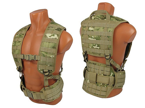 M.o.l.l.e. Chest rig vest airsoft paintball multicam