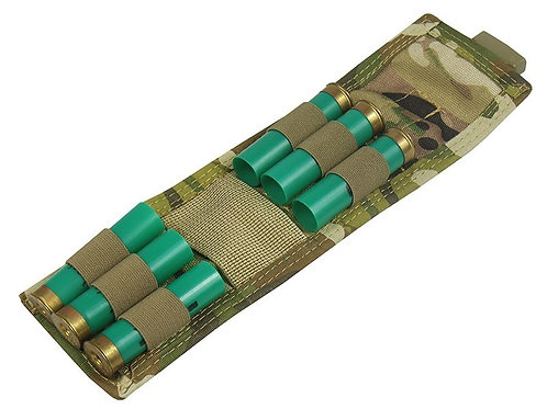 MOLLE POUCH FOR 6 CARTRIDGES OR REFILLS OF CO2 multicam