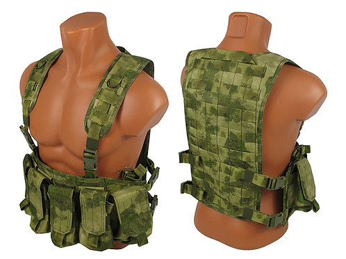 Tactical Chest rig №2 Modular Airsoft Vest Paintball MOLLE