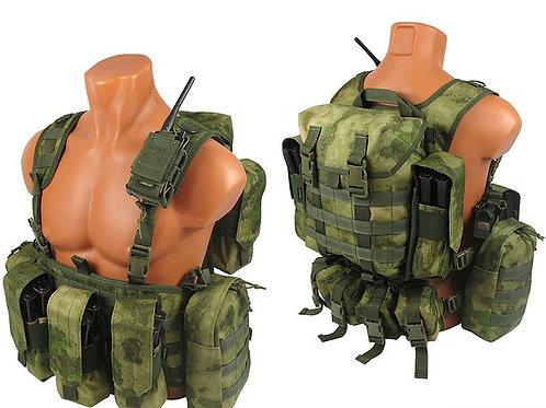 MOLLE Chest rig vest atacs fg kit №2