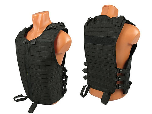 M.o.l.l.e. VEST Chest rig vest airsoft paintball black