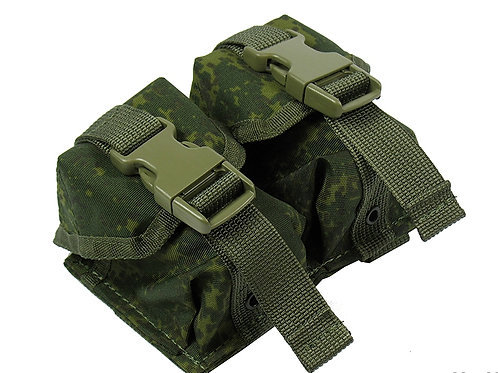 M.O.L.L.E POUCH DOUBLE UNDER TWO GRENADES. MODEL №2 rus pixel emr