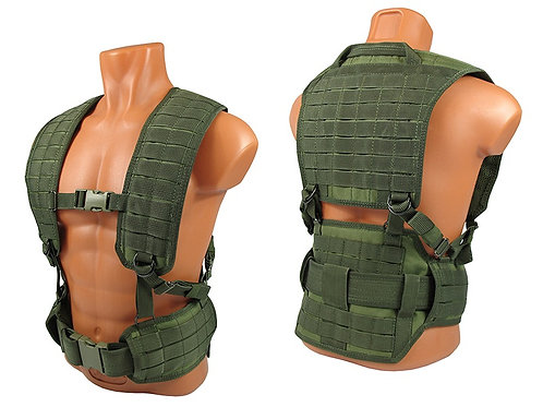 M.o.l.l.e. Chest rig vest airsoft paintball olive