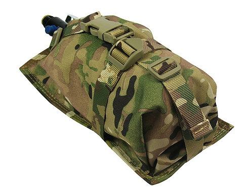 Air Tanks CO2 pouch bag M.O.L.L.E vertical CYLINDER ninja (0,8-1,8L)  multicam