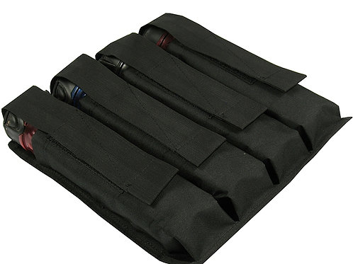M.O.L.L.E  POUCH ON THE WAIST UNDER THE FOUR TUBES AT 140-160 BALLS black