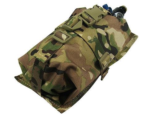 Air Tanks CO2 pouch bag M.O.L.L.E HORIZONTAL CYLINDER ninja 0,8-1,8L) multicam