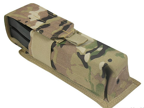 Pouch 2 RPK SAIGA-12 BOAR-12 M.O.L.L.E PAINTBALL TUBE 160 BALL multicam