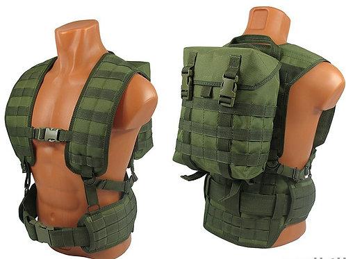 M.o.l.l.e. backpack bag olive