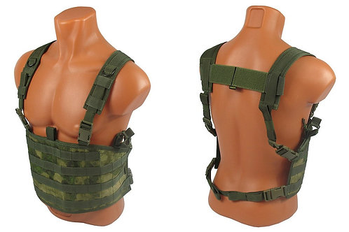 Chest rig airsoft paintball m.o.l.l.e atacs fg