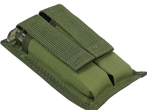 M.O.L.L.E  POUCH FOR TWO DUAL PISTOL MAGAZINE (olive)