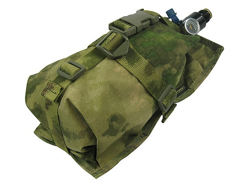 Air Tanks CO2 pouch bag M.O.L.L.E HORIZONTAL CYLINDER ninja (0,8-1,8L) a-tacs fg