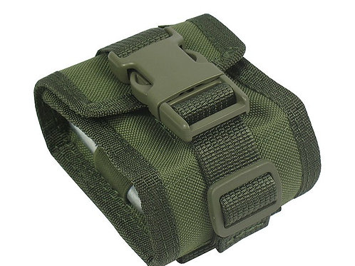 MOLLE POUCH FOR 6 CARTRIDGES OR REFILLS OF CO2 (olive)