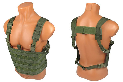 Chest rig airsoft paintball m.o.l.l.e rus pixel emr