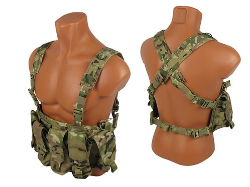 Tactical Chest rig №1 Modular Airsoft Vest Paintball MOLLE