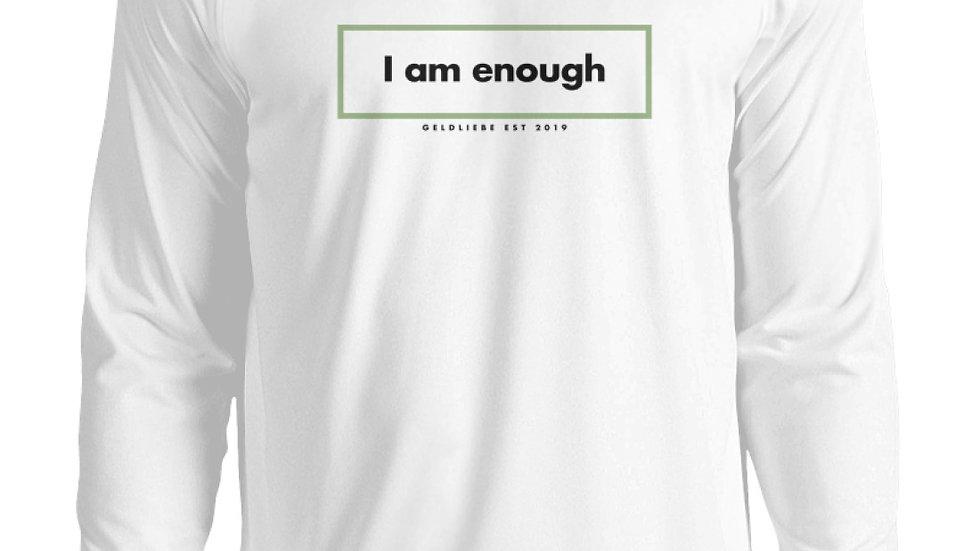 """GELDLIEBE """"I Am Enough Print""""  - Unisex Pullover"""