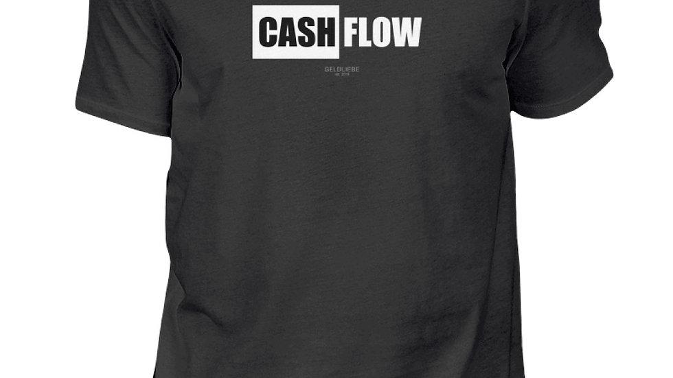 """GELDLIEBE """"CASHFLOW Print b&w""""  - Herren Shirt"""