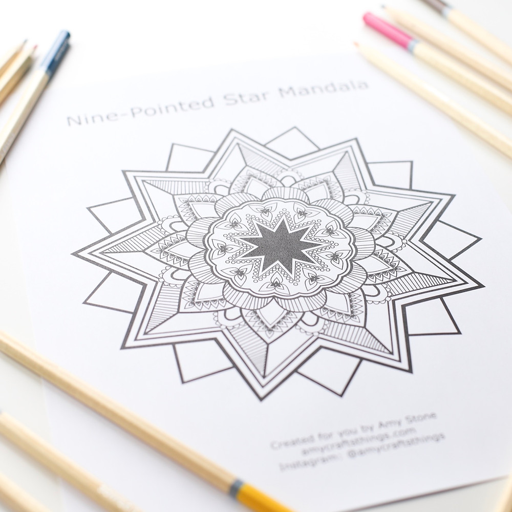 Gift Coloring Page to Celebrate Ridván – Delighted Hearts | 1000x1000