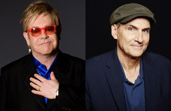 Elton and James
