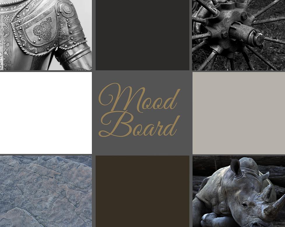 Green Plants Mood Board Photo Collage (1