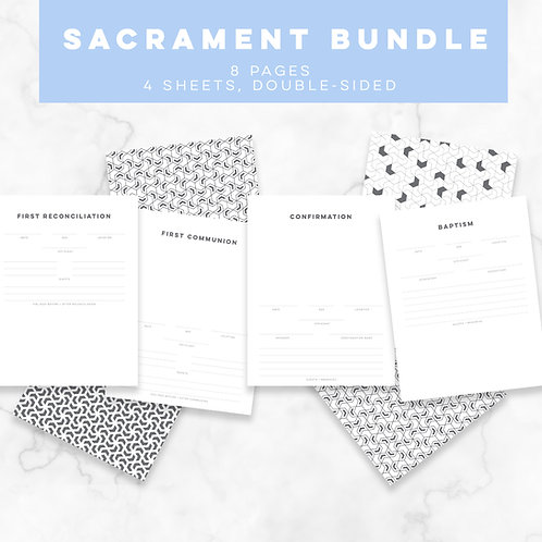 S + S Sacrament Bundle