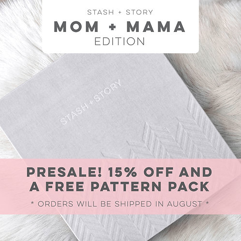 MOM + MAMA: STASH + STORY baby book box