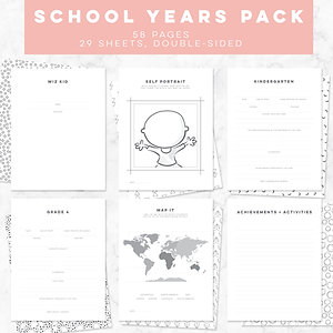 S + S School Years Pack