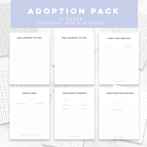 S + S Adoption Pack