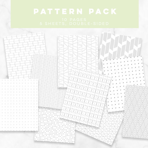 S + S Pattern Pack