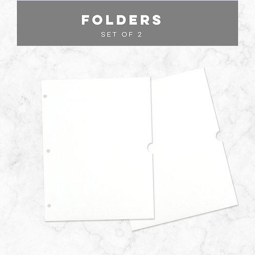 S + S Folders (set of 2)