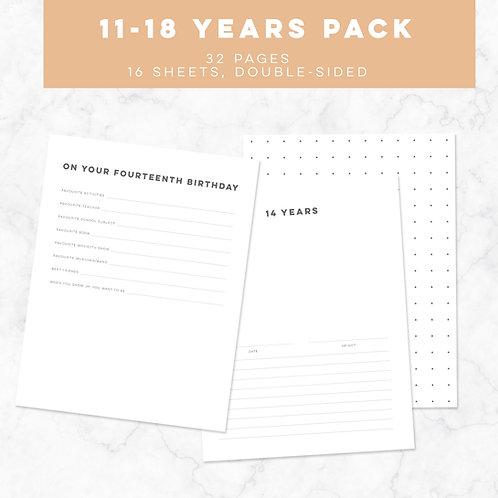 S + S Ages 11-18 Birthday Bundle