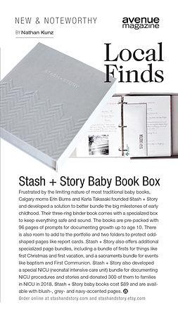 STASH in Avenue Magazine INSTA STORY.jpg
