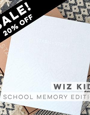 STASH + STORY School Memory box