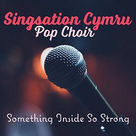 Singsation Cymru album Cover