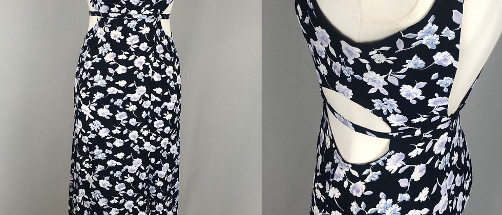 Detailed floral Maxi Dress