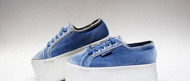 Vintage Superga Platform Sneakers Size 6.5