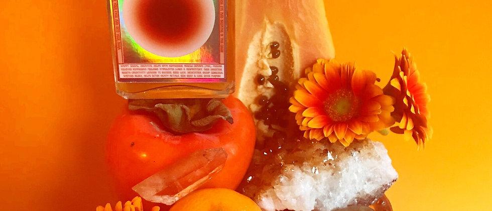 Orange Vibrational Color + Gemstone Mist