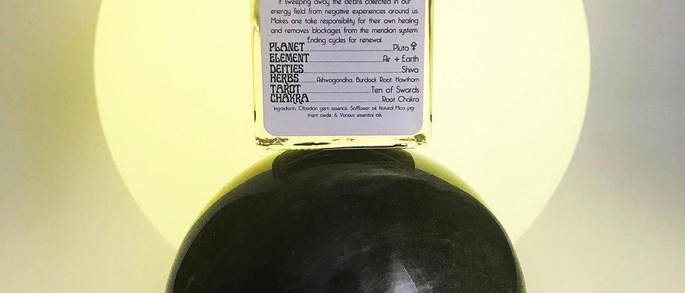 Obsidian Ritual Gem Essence