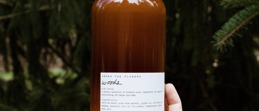 Woods Botanical Hand & Body Aloe Lotion