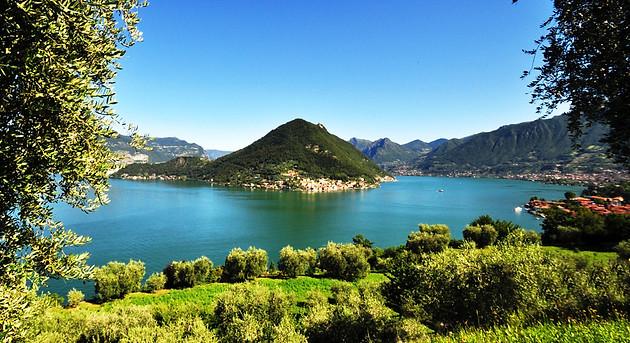 Iseo lake Franciacorta
