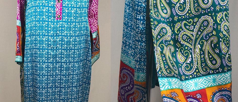 Stunning Silky Tunic/Dress