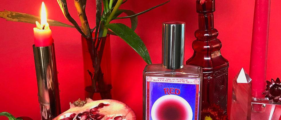 RED Vibrational Color + Gemstone Mist