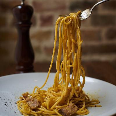 Best pasta carbonara in Budapest