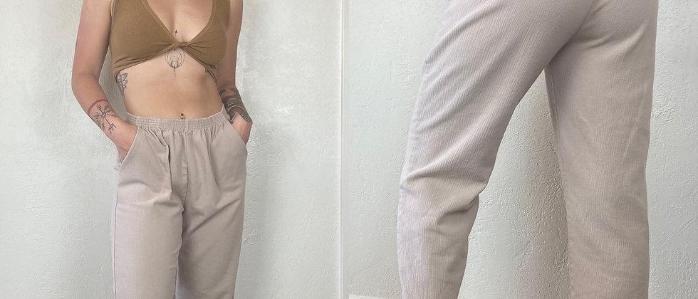 Comfy Tan Trouser Pants