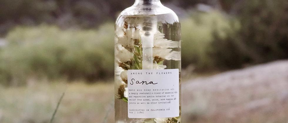 Sana Body + Bath Meditation Oil