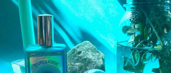 Turquoise Vibrational Color + Gemstone Mist