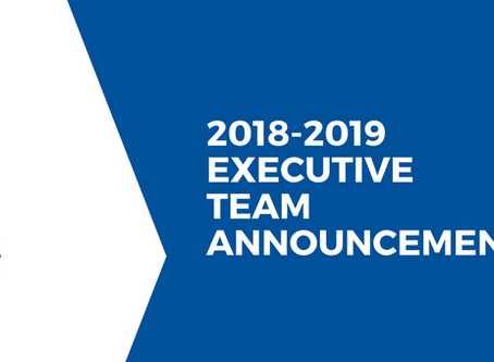 SBSS Announces 2018-2019 Executive Team