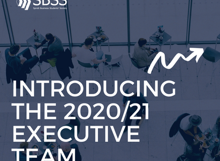 Introducing 2020-21 Executive Team