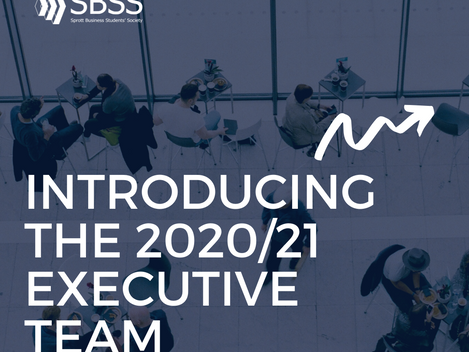 Introducing 2020-21 Executive Team