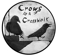 Crows at a Crosswalk Logo
